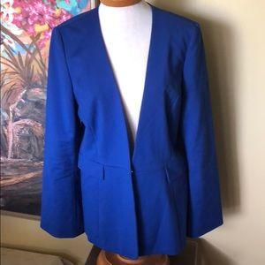 Antonio Melani Blue Suit Jacket Sz. 14
